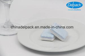 OEM&ODM No Phosphate Blue-White Lemon Scent Washing Detergent Tablets, Auto Dishwashing Detergent Tablets pictures & photos