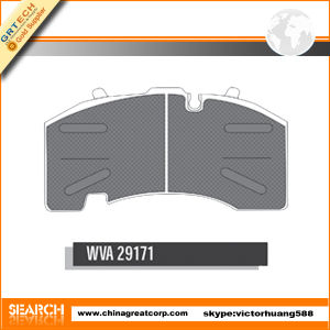 Wva 29171 Truck Pads of Brake for BPW pictures & photos