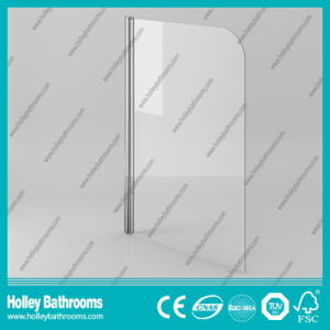 Poplular Walk-in Shower Screen with Tempered Laminated Glass (SE934C) pictures & photos