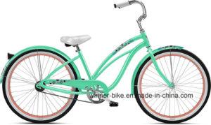 Classic Steel Frame 26 ′′ Lady′s Beach Cruiser Beach Bike pictures & photos