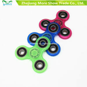 Hotsale Glow in Dark Fidget Hand Spinner Stress Relief Toys pictures & photos