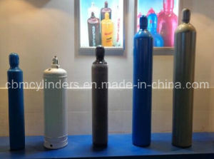 Refillable Oxygen Gas Cylinder Tanks pictures & photos