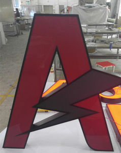 Reverse Backlit Facelit Frontlit Aluminum LED Channel Letters Sign pictures & photos