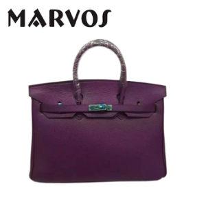 China Wholesale Leather Handbag / Lady′s Tote Handbag Ma1669 pictures & photos