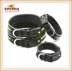 Pet Products Adjustable Reflective Pet Collar with Velcro/Dog Collar (KC0113) pictures & photos
