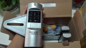 Office Glass Door Electronic Lock with Password or Card Key pictures & photos