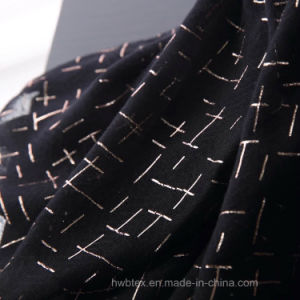 Geometic Hot Stamping Cotton Shawl/Fashion Scarf (HWBC02) pictures & photos