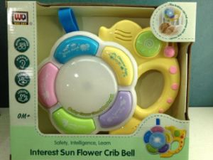 Kids Plastic Educational Crib Bell Baby Toy pictures & photos