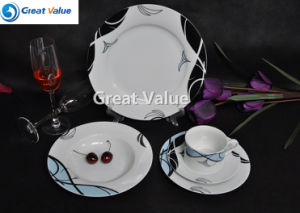 Hot Sale 20PCS Porcelain Dinnerware Set pictures & photos