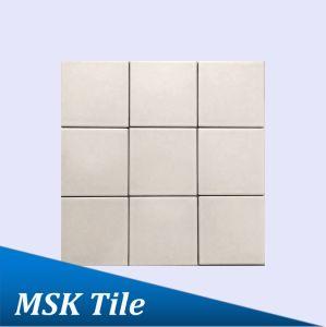 """4X4""""Matt Creamy White Glazed Porcelain Floor and Wall Tile"""