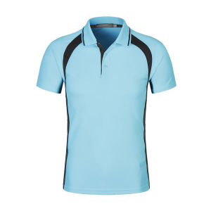 Wholesale Custom Men Pique Polo T Shirts with Contrast Panel Insert pictures & photos
