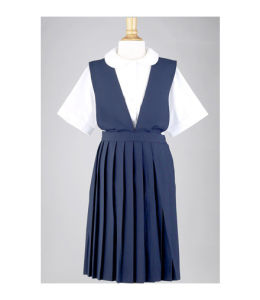 New Design Custom School Uniform Dress pictures & photos