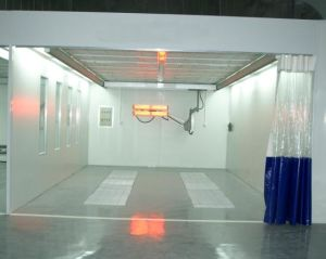 High Efficient Polishing Booth Prep Room pictures & photos