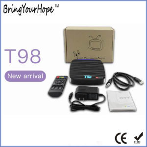 New Arrival T98 Rk3328 Hdcp Android 7.1 TV Box (XH-AT-038) pictures & photos