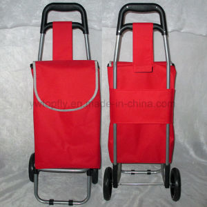 Factory Direct Wholesale Supermarket Folding Shopping Cart Trolley pictures & photos