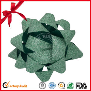Christmas Decoration Star Ribbon Bow pictures & photos