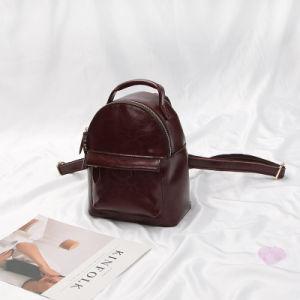 Al90057. Cow Leather Backpack Schoolbag Shoulder Bag Fashion Handbags Fashion Backpack Lady Bags Designer Handbags pictures & photos