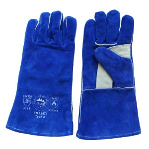 Reinforcement The Palm Leather Labor Work Welding Gloves for Welders pictures & photos