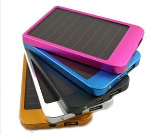 Haochang Special Offer Solar Power Bank with Different Pattern pictures & photos