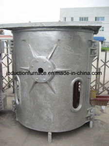 Gwc High Quality Induction Electric Smelting Furnace for Melting Copper Iron Alloy pictures & photos
