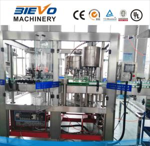 Automatic Concentrate Fresh Juice Filling Machine for Glass Bottle pictures & photos