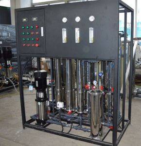 Factory Price 500L/H RO Well Water Treatment Plant with Ozone Generator pictures & photos