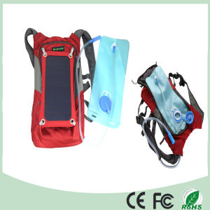 Waterproof Polyester 6.5W Cycling Climbing Hiking Travel Solar Power Backpack (SB-178) pictures & photos
