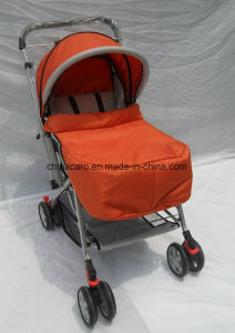 European Standard Folding Baby Cart with Mosquito Net and Foot Cover (CA-BB255) pictures & photos