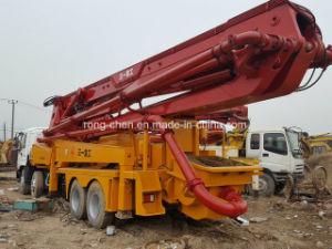 Good Condition Used Sany Isuzu Concrete Pump Truck 42m Rhd pictures & photos