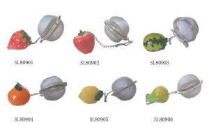 Fruit Strawberry Decor Tea Infuser, Tea Ball Infuser pictures & photos