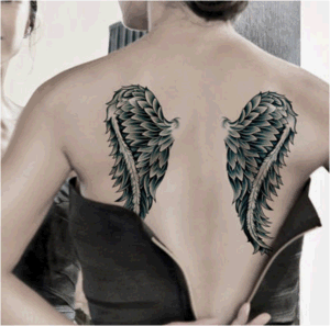 Fantasy Wings Waterproof Temporary Tattoo Sticker Art Tattoo Sticker pictures & photos