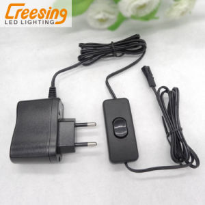 DC12V LED Power Supply with Foot Switch and 3 Way Junction Box pictures & photos