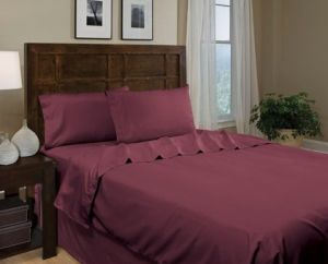 Ultra Soft Like Egyptian Cotton Bed Sheet pictures & photos
