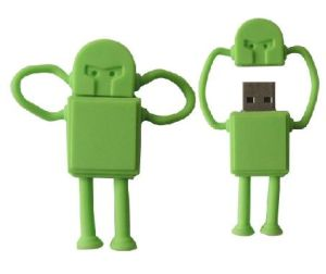 Hot Selling People USB Flash Drive Robot USB Stick pictures & photos