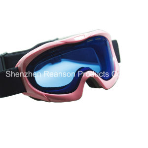 Reanson High Quality Double Lenses Anti-Fog Snow Goggles pictures & photos