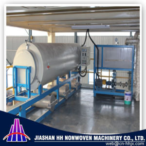 China Good Quality PP Spunbond Nonwoven Vacuum Calcinator Machine pictures & photos