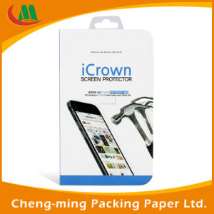 Custom Logo Clear PVC Paper Gift Packaging Box with Window pictures & photos