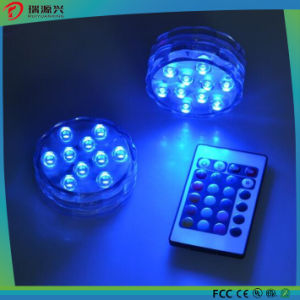 Decoration Multicolor Remote Controlled LED Submersible Lights pictures & photos