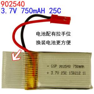 3.7V 750mAh Special Forces Mjx RC Fei Qi Heng Rpv 3.7V 750mAh Li-Polymer Battery 25c Discharge 902540 Li-Po Battery pictures & photos