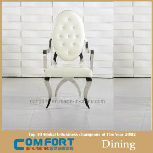 Latest Factory Luxury Golden Stainless Steel Wedding Chairs