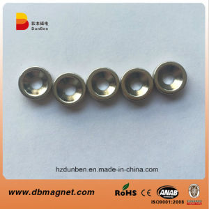 10mm Dia X 5mm Thick X 3.2mm C/Sink Neodymium Magnet - 2kg Pull pictures & photos