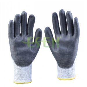 Esen Soft Nitrile Coated Cut Protective Safety Work Glove (D78-G5) pictures & photos