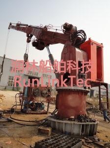 Marine Hydraulic Telescopic Crane pictures & photos