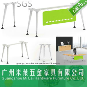 Modern Metal Computer Table Iron Table Steel Leg pictures & photos