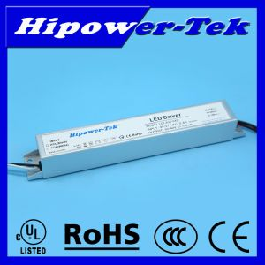 UL Listed 23W, 480mA, 48V Constant Current LED Driver with 0-10V Dimming pictures & photos