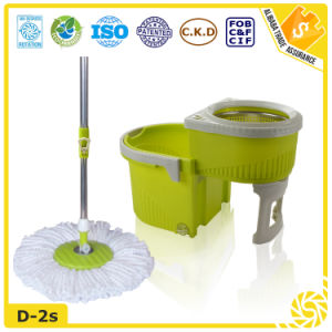 Eco-Friendly Feature 360 Degree Spin Microfiber Mop pictures & photos