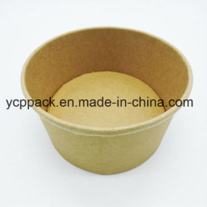 Disposable Food Packaging Kraft Salad Bowl pictures & photos