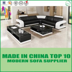 Modern Design Living Room Leather Corner Sofa pictures & photos