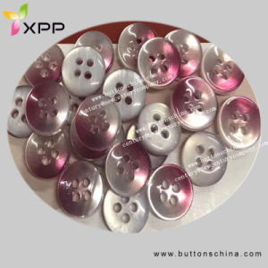 Multicolored Pear Button for Shirt pictures & photos