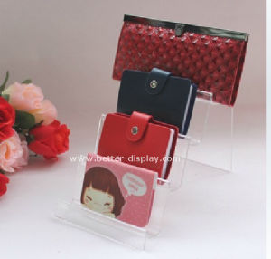 Portable Display Acrylic Wallet Display Rack Btr-G2020 pictures & photos